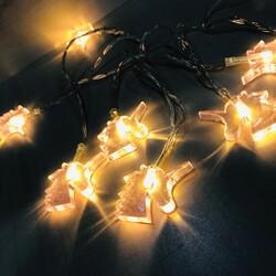 Parti Dünyası - Unicorn Çam Ağacı Led Gün Işığı Pilli 10 lu