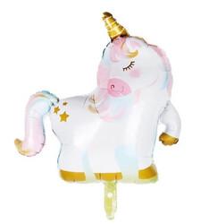 Parti Dünyası - Unicorn Premium Gold Folyo Balon 75 x 72 cm