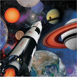 Parti Dünyası - Uzay Partisi 16 lı Peçete