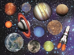 Parti Dünyası - Uzay Partisi 8 li Amerikan Servis