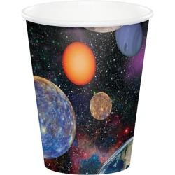 Parti Dünyası - Uzay Partisi 8 li Bardak