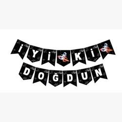 Parti Dünyası - Uzay Partisi İyi Ki Doğdun Banner 190 cm