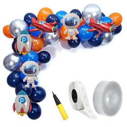 Parti Dünyası - Uzay Partisi Zincir Balon Yapım Seti