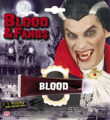 Vampir Dişi ve Tüp İçinde Kan Kapsülü