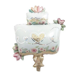 Parti Dünyası - Wedding Cake Folyo Balon 80 cm