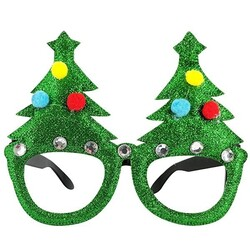 Parti Dünyası - Yeni Yıl Parti Gözlüğü Çam Ağaçlı