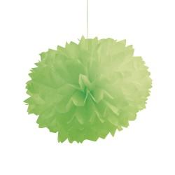 Parti Dünyası - Yeşil Ponpon Çiçekler 1 Adet