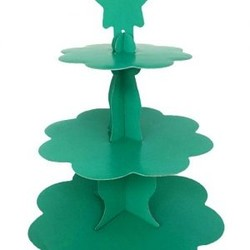 Parti - Yeşil Renk Cupcake Standı