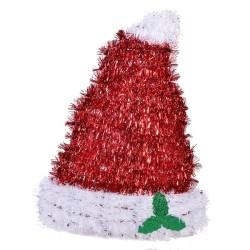 - Yılbaşı Şapkası Asılabilir Dekor Süs 30 cm