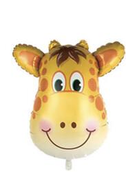 Parti Dünyası - Zürafa Folyo Balonu 45 cm