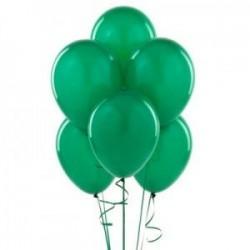 Parti Dünyası - Zümrüt Yeşili 100 Lü Latex Balon